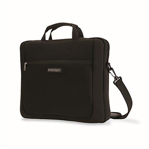 Kensington K62561Eu Custodia per Laptop Simply Portable, Custodia In Neoprene per Dispositivi da 15.6', per Macbook Pro, Macbook Air, Laptop E Tablet Hp, Borsa Unisex con Maniglia E Tracolla