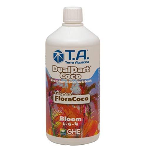GHE Flora Coco Starter-Pack FloraCoco Grow + Bloom + Final Part Ripen da 1 litro per terriccio di cocco, professionale, per risultati ottimali delle piante (Flora Coco Bloom 1-L)