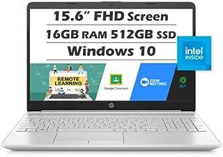 """HP 15 Laptop (Latest Model), 15.6"""" Full HD Display, Intel Core i5-1135G7 (Beat i7-1065G7), 16GB RAM, 512GB SSD, Intel Iris..."""