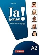 JA Genau!: Testheft MIT CD A2 Band 1 & 2 (German Edition)