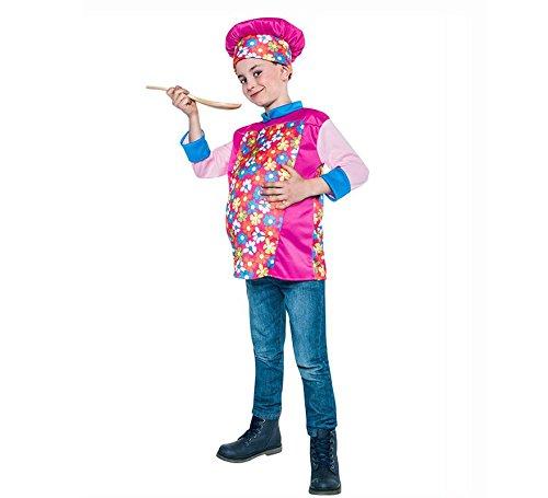 disfraz de chef divertido talla 10-12