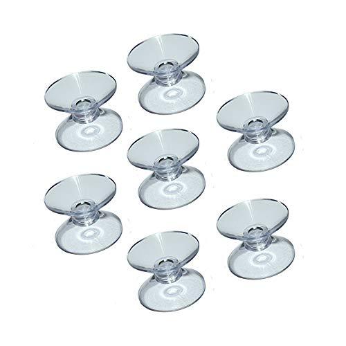 Doppelseitige Saugnäpfe für Glastischplatten, um das Gleiten der Glastischplatte zu verhindern 12 Count.