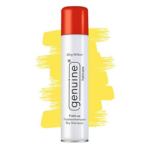 Trockenshampoo Dry Shampoo Spray, für Volumen, Fresh up genuine haircare, alle Haartypen/Farben, keine Rückstände/Verkleben