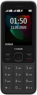 "Nokia 150 (2020) Feature Phone, Dual SIM, 2.4""Display, Camera, expandable MicroSD up to 32GB - Black"