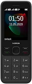 "Nokia 150 (2020) Feature Phone, Dual SIM, 2.4"" Display, Camera, FM Radio, MP3 Player, expandable MicroSD up to 32GB - Black"