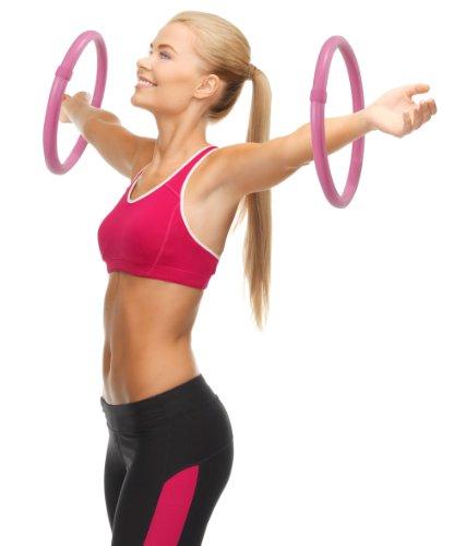 hoopomania Arm Hoop, Mini Hula Hoop Set mit Schaumstoffüberzug, 2-teilig, je 0,25kg