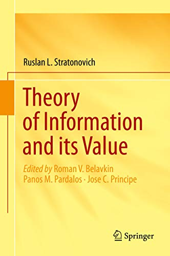 Theory of Information and its Value (English Edition)