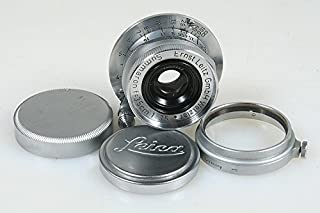 LEICA LEITZ 35MM F 3.5 SUMMARON M39 W/FILTER & FRONT AND REAR LENS CAPS