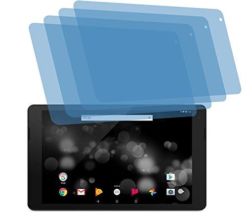 4ProTec I 4X ANTIREFLEX matt Schutzfolie für Trekstor PRIMETAB P10 Bildschirmschutzfolie Displayschutzfolie Schutzhülle Bildschirmschutz Bildschirmfolie Folie