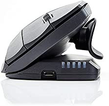 Contour Design Unimouse Mouse Wireless - Wireless Ergonomic Mouse for Laptop and Desktop Computer Use - 2.4GHz Fully Adjustable Mouse - Mac & PC Compatible - (Right-Hand)
