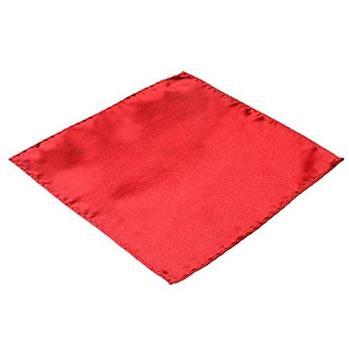 DonDon Fazzoletto da taschino uomo rosso