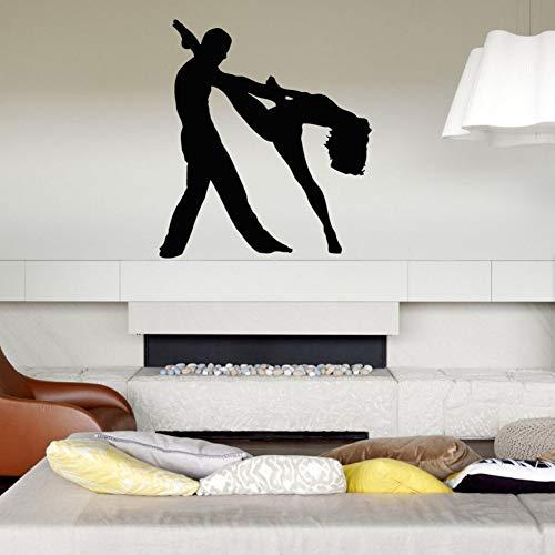 Huaden 5pcs Fototapete Schlafzimmer Paar Tanz Tango schöne Melodie Konzert