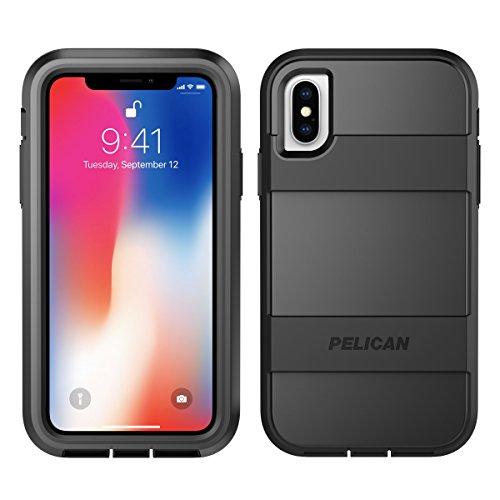 iPhone X Case | Pelican Voyager iPhone X Case (Black)