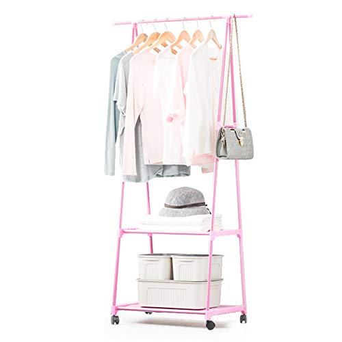 SqsYqz Abnehmbare Aufhänger Schlafzimmer Wäscheständer Multifunktionale Garderobe Kreative Kleiderständer Boden Hängen...