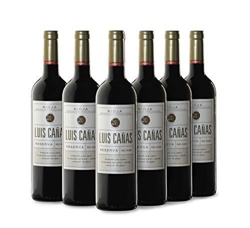 Luis Cañas Reserva Vino Tinto Caja Cartón 6 x 0.75 L