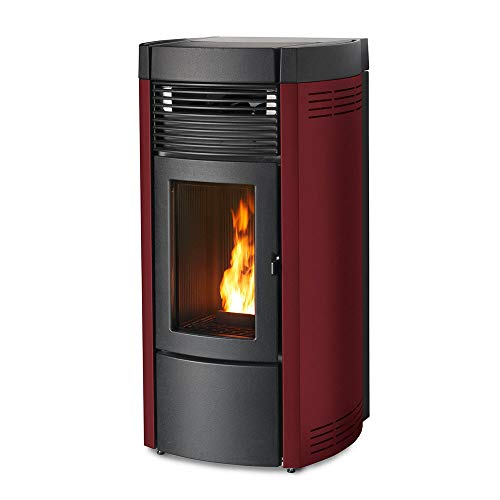 Pelletofen MCZ MUSA Air Maestro/Maestro UP! (10kw) Metall Bordeaux hinten