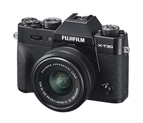 FUJIFILM ミラーレス一眼カメラ X-T30XCレンズキット ブラック X-T30LK-1545-B