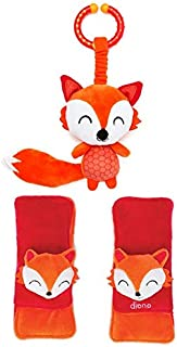 Diono Baby Harness Soft Wraps & Linkie Toy, Fox