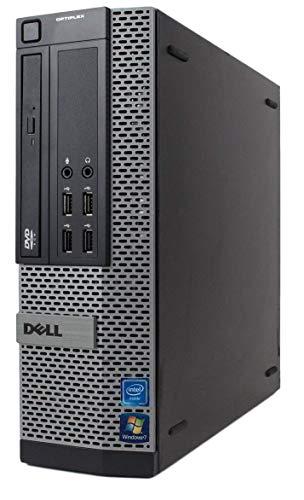 Dell Optiplex 7020 Intel I3-4160 3,60 GHz SFF PC schwarz 120 GB SSD + 2 TB HDD No Graphics Card