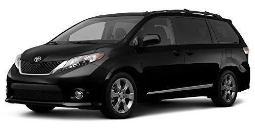 2012 Toyota Sienna XLE Auto Access Seat, 5-Door 7-Passenger Van V6 Front Wheel Drive (Natl), Black