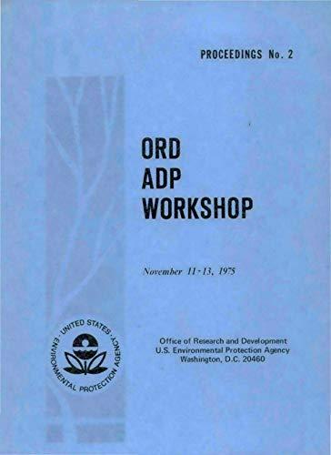 ORD ADP Workshop: Proceedings No. 2 (English Edition)