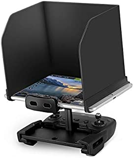 HeiyRC 9.7inch Remote Controller Tablet Sun Shade,Folding Sun Hood for DJI Mavic Pro,Mavic Mini,Mavic 2 Pro Zoom,Mavic Air,Spark,Phantom 3 4 Pro Advanded Drone