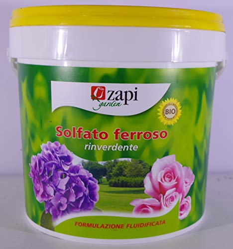 Abono de sulfato ferroso, bolsa de 5kg