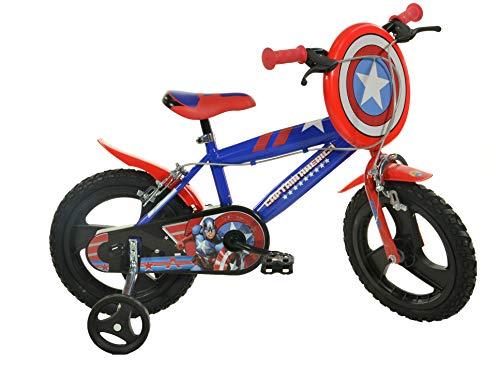 Dino Bikes Captain America Infantil Unisex Ciudad