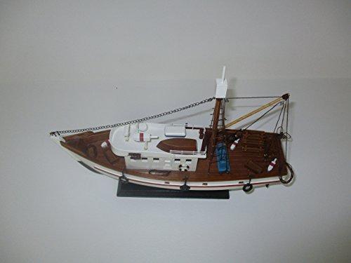 Dazzle Dees Wood Model Fishing Boat