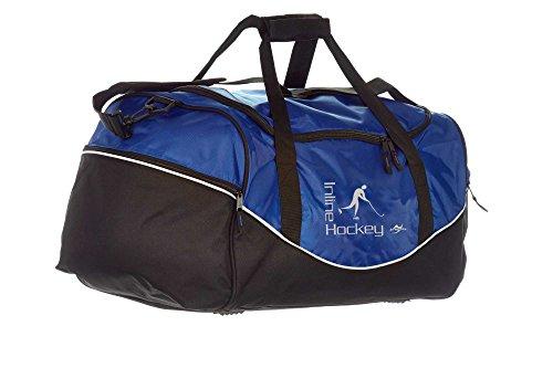 Ju-Sports Tasche Team blau/schwarz Inline Hockey