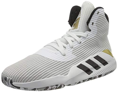 adidas Pro Bounce 2019, Zapatillas de Baloncesto Hombre, Blanco (Ftwbla/Negbás/Dormet 000), 42 2/3 EU ✅