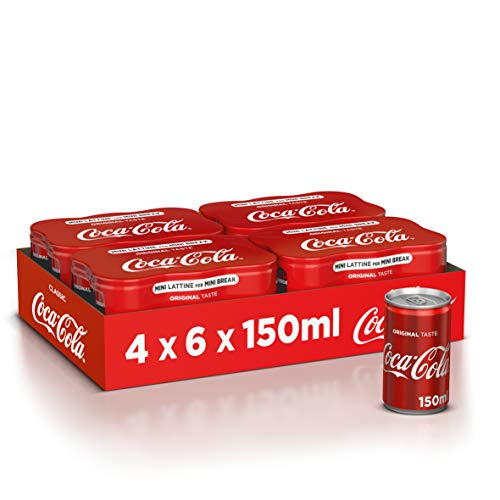 Coca-Cola Original Taste 150ml x24 (Lattina)