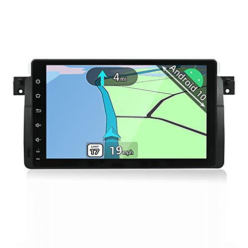 YUNTX PX6 Android 10 Autoradio Compatible con BMW E46 / M3 / 3 Serie (1998-2005) -[4G + 64G]- Cámara de visión Trasera y Canbus Gratis - Soporte Dab +/GPS/4G/WiFi/Bluetooth/Mirrorlink/Carplay
