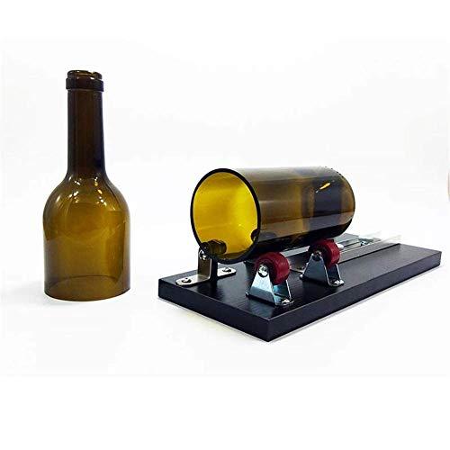 WFAANW Juego de Herramientas de Cortador de Botellas de Vidrio, Botellas de Vidrio, Kit de Corte Fuerte para Bricolaje de cristalería, lámparas, jarrones, candelabros