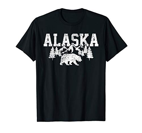 Alaska Cold Snow Mountains T-Shirt