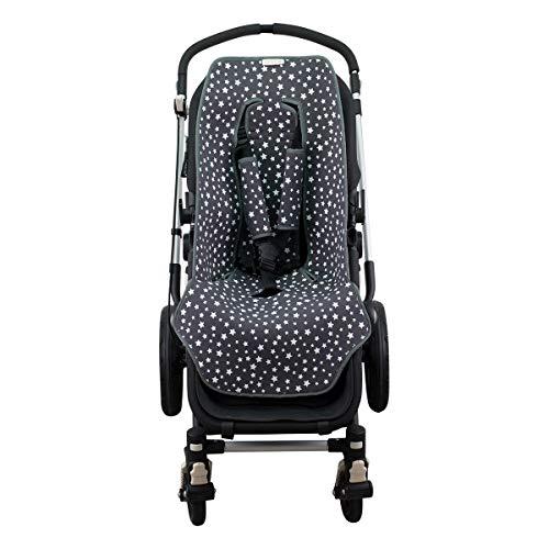 Yosoo 2/par para cochecito de beb/é cochecito de asa fundas de neopreno para Magic cinta Rotary Barra de bar dise/ño /único agarre de negro para silla de paseo Cochecito