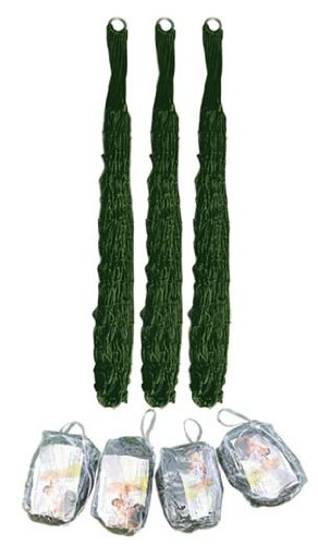 The Khan Outdoor & Lifestyle Company Hamaca Ultraligera de Color Verde Camuflaje, Muy Ligera y fácil de Llevar en la Mochila.