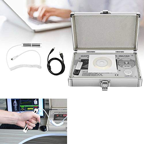 Resonancia Magnética, Analizador de Cuerpo Humano de Resonancia Magnética Cuántica Dispositivo de Diagnóstico de Salud Secundario con Cable USB