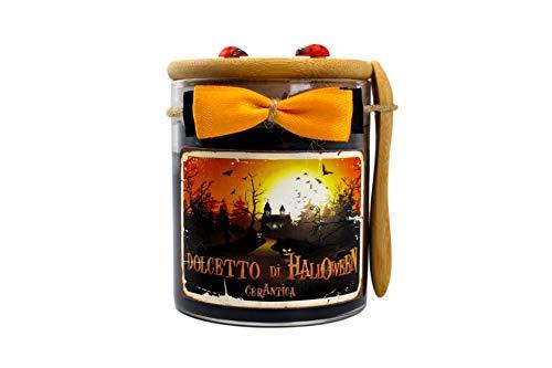 CerAntica Candela Artigianale Dolcetto di Halloween - Media (245 Grammi)