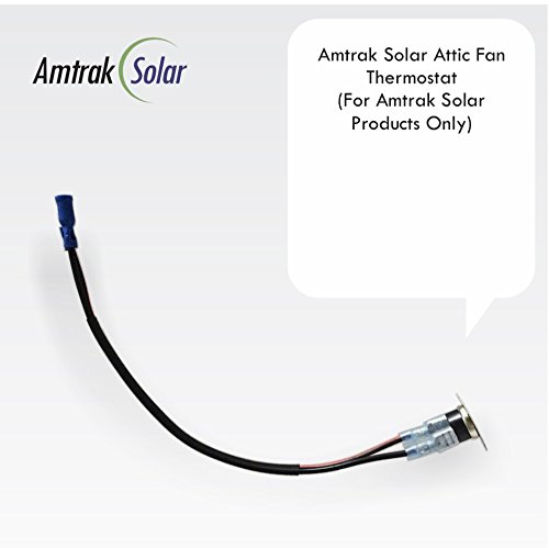Amtrak Solar Attic Fan - Thermostat (For Amtrak Solar Products Only)