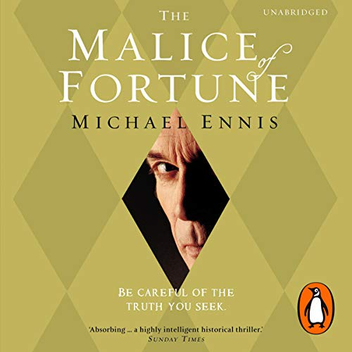 The Malice of Fortune audiobook cover art