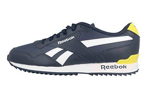 Reebok Royal Glide RPLCLP, Zapatillas de Running para Hombre, Maruni/Blanco/AMABRI, 40.5 EU