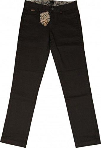 Iron Fist Skateboard Slim Fit Jeans Hose Schwarz Sabbath Denim, Hosengrösse:30, Farbe (Kleidung):schwarz