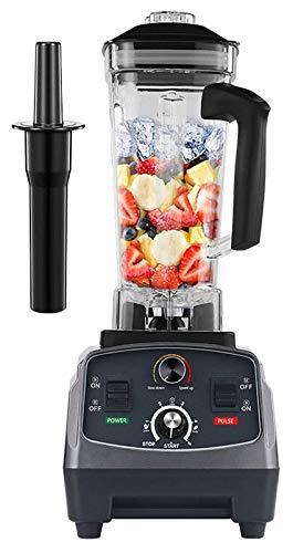 JURICER 2200W Temporizador automático de calificador de calificador automático de calificador de calificador automático Juicer Fruit Procesador de alimentos Smoothies BPA Free 2L Jar TitaniumGrey expr