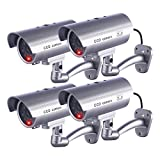 IDAODAN Dummy Security Camera, Fake Cameras CCTV Surveillance...