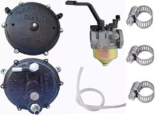 Erdgas / LPG Umrüstsatz, Vergaserqualität-Generatorteile (Dichtungssatz + Vergaser (2 bis 4 kW)