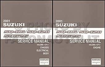 2001 Suzuki Vitara and Grand Vitara Repair Shop Manual Set Original