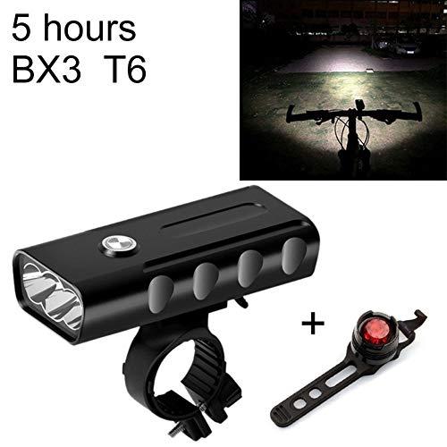 Fahrradlichter, Frontlichter, Wiederaufladbare Nachttaschenlampen Mit Elektrischen Hupen, Fahrradzubehör, Fahrradausrüstung