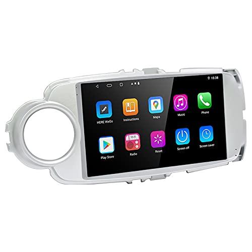 LEXXSON Android 10.1 Radio para Toyota Yaris 2010-2018 | 9 Pulgadas Am FM RDS Radio GPS WiFi Bluetooth EQ Configuración DSP Pantalla Dividida Control del Volante Enlace de Espejo 2G + 32G