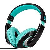 Rockpapa Comfort+ Over Ear Headphones Earphones with Microphone & Volume Control for Kids